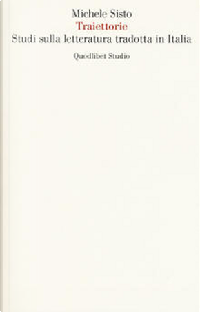 Traiettorie by Michele Sisto