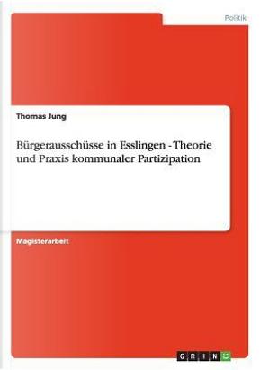 Bürgerausschüsse in Esslingen - Theorie und Praxis kommunaler Partizipation by Thomas Jung