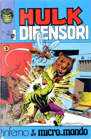 Hulk e i Difensori n. 31 by Archie Goodwin, Chris Claremont, Len Wein, Roger Slifer, Steve Gerber