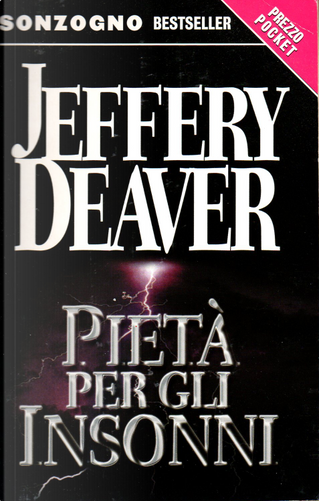 Pietà per gli insonni by Jeffery Deaver