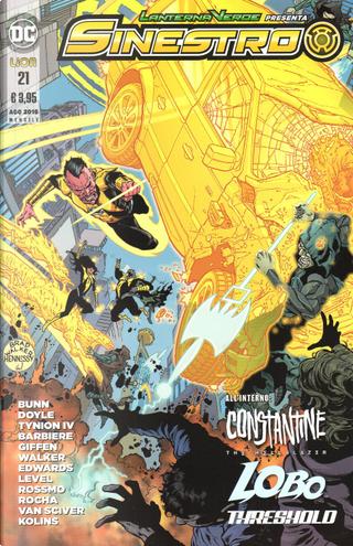 Lanterna Verde presenta: Sinestro n. 21 by Cullen Bunn, Frank Barbiere, James Tynion IV, Keith Giffen, Ming Doyle