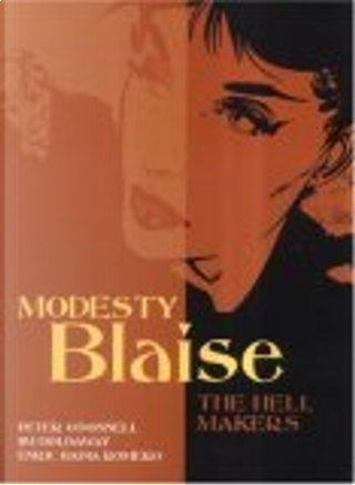 Modesty Blaise by Enric Badia Romero, Jim Holdaway, Peter O'Donnell