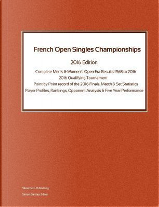 FRENCH OPEN SINGLES CHAMPIONSH by Simon Barclay
