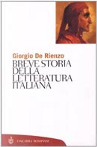 Breve storia della letteratura italiana by Giorgio De Rienzo