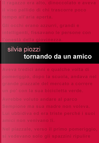 Tornando da un amico by Silvia Piozzi
