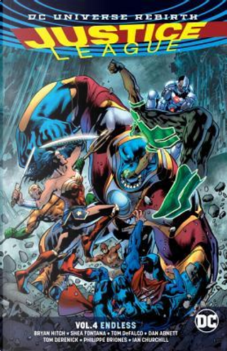 Justice League 4 by Bryan Hitch