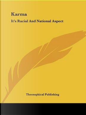 Karma by Theosophical Publishing Society