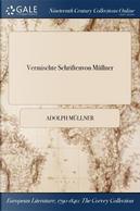 Vermischte Schriftenvon Müllner by Adolph Müllner