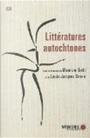 Littératures autochtones by Maurizio Gatti