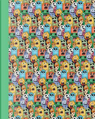 Doodle Monsters Green Sketch Journal by Premise Content