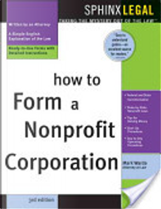 How to form a nonprofit corporation by Mark Warda
