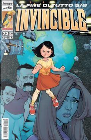 Invincible n. 72 (Cover A) by Joe Keatinge, Robert Kirkman