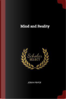 Mind and Reality by Josiah Royce