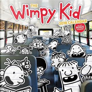 The Wimpy Kid 2018 Calendar by Jeff Kinney