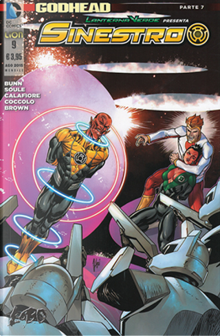 Lanterna Verde presenta: Sinestro n. 9 by Charles Soule, Cullen Bunn
