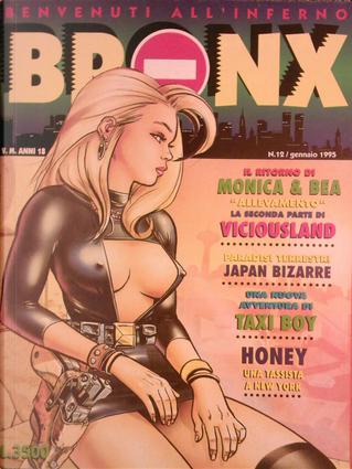 Bronx n. 12 by Chauvel, Javi Santonja, Marta, Mike Ratera, Molinero, Monica e Bea, Pier Giorgio Paglia, Ray Collins
