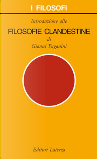 Filosofie clandestine by Gianni Paganini