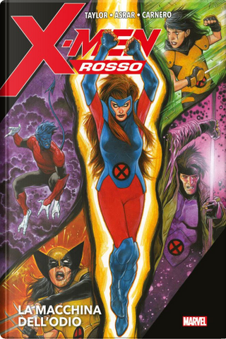 X-men rosso by Tom Taylor