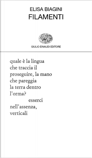 Filamenti by Elisa Biagini