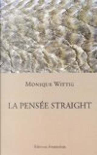 La Pensée Straight by Monique Wittig