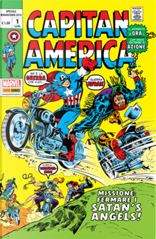 Capitan America - Speciale Riminicomix 2014 by Stan Lee