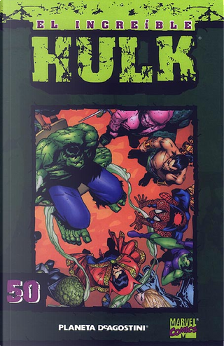 El Increíble Hulk. Coleccionable #50 (de 50) by Peter David