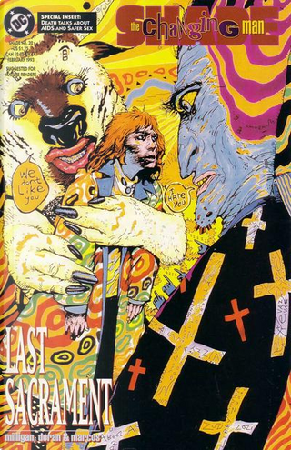Shade, the Changing Man Vol.2 #32 by Peter Milligan