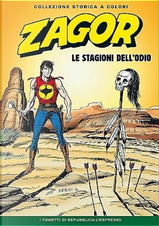 Zagor collezione storica a colori n. 155 by Maurizio Colombo, Mauro Boselli