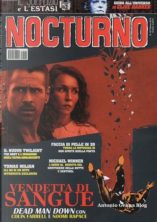 Nocturno cinema n. 127 by Corrado Farina, Francesco Barilli, Lamberto Bava, Manlio Gomarasca, Michele Giordano