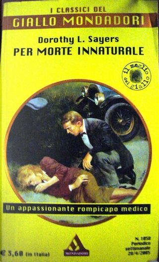 Per morte innaturale by Dorothy L. Sayers