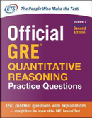 Official GRE Quantitative Reasoning Practice Questions, Second Edition, Volume 1 by N/A Educational Testing Service