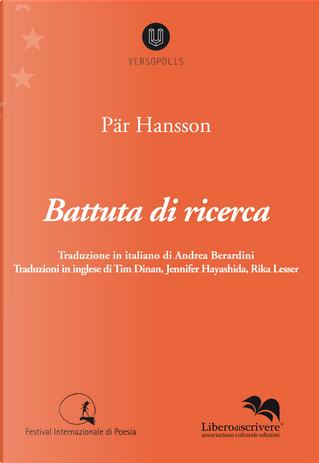 Battuta di ricerca by Pär Hansson