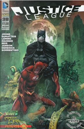 Justice League n. 38 by Geoff Jones, J. M. DeMatteis, Jeff Lemire