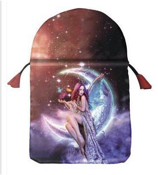 Moon Fairy Satin Tarot Bag by Lo Scarabeo
