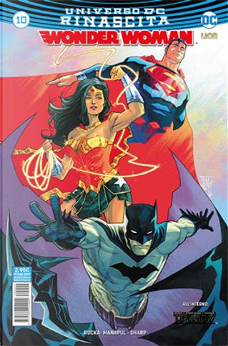 Wonder Woman #10 by Francis Manapul, Greg Rucka