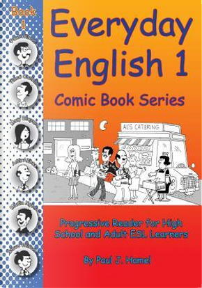 Everyday English Comic Book 1 by Paul J. Hamel