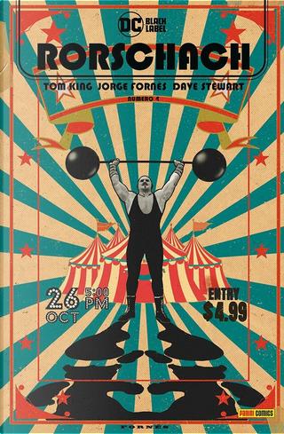 Rorschach vol. 4 by Dave Stewart, Jorge Fornès, Tom King