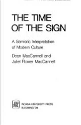 The time of the sign by Dean MacCannell