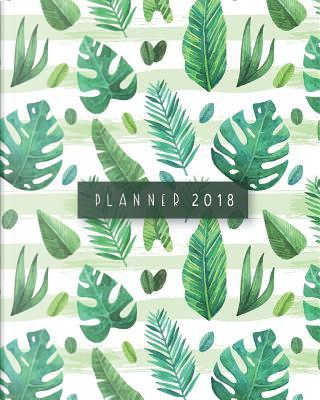2018 Monthly and Daily Planner by Banana Leaves