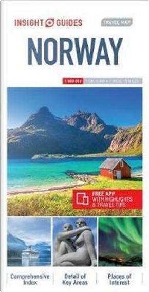 Insight Travel Map Norway by Insight Guides