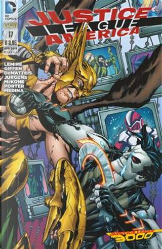 Justice League America n. 17 by Dan Jurgens, J. M. DeMatteis, Jeff Lemire, Keith Giffen
