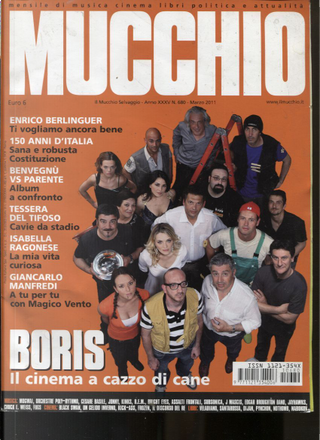 Mucchio n. 680 (marzo 2011) by Daniela Federico, Eddy Cilìa, John Vignola, Max Stèfani, Riccardo Bertoncelli