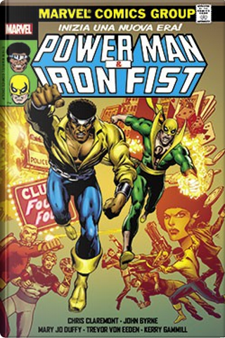 Marvel Omnibus: Power Man & Iron Fist by Steven Grant, Ed Hannigan, Mary Jo Duffy, Bob Layton, Chris Claremont