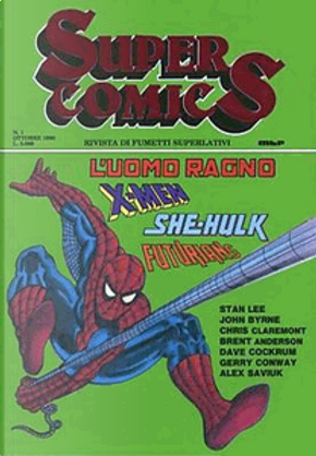 Super Comics n. 1 by Chris Claremont, Dave Cockrum, Gerry Conway, John Byrne