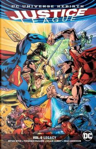 Justice League 5 by Bryan Hitch