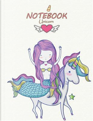 Notebook unicorn by Cutie unicorn