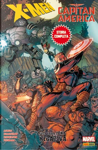 Speciale X-Men/Capitan America: Fuga Dalla Zona Negativa by Ibraim Roberson, James Asmus, Max Fiumara, Nick Bradshaw