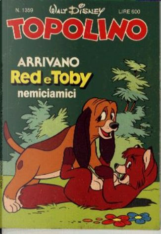 Topolino n. 1359 by Ed Nofziger, George Waiss, Gian Giacomo Dalmasso, Greg Crosby, Jaime Diaz Studio, Sergio Asteriti, Tony Strobl
