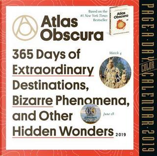 Atlas Obscura 2019 Calendar by Atlas Obscura