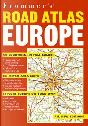 Frommer's Road Atlas Europe by Automobile Association